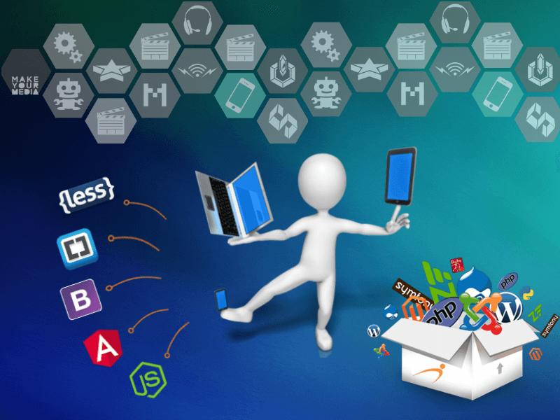 open source web design application