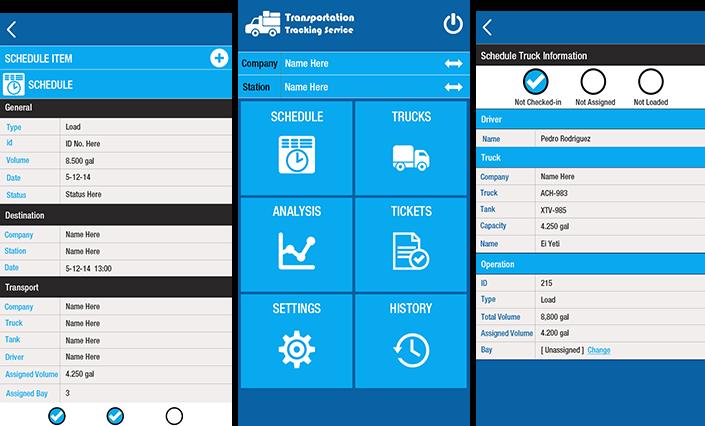 Truck Logistics Tracking Service