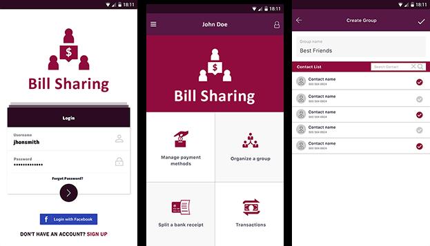 Bill Sharing Platform