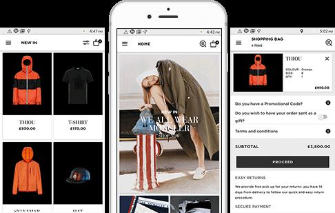 Sportswear Shopping Solution