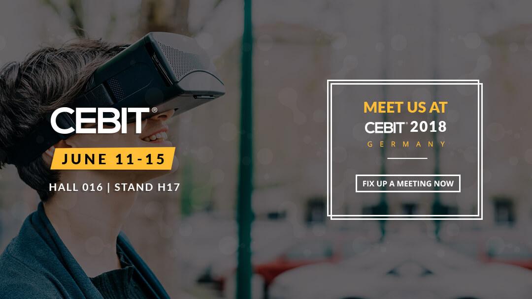 Meet WeblineIndia at CEBIT 2018, Germany