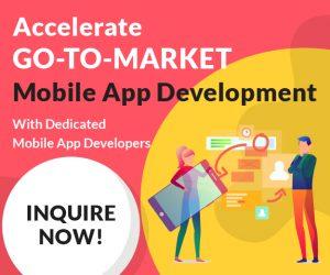 Go-To-Market Mobile App Development - CTA